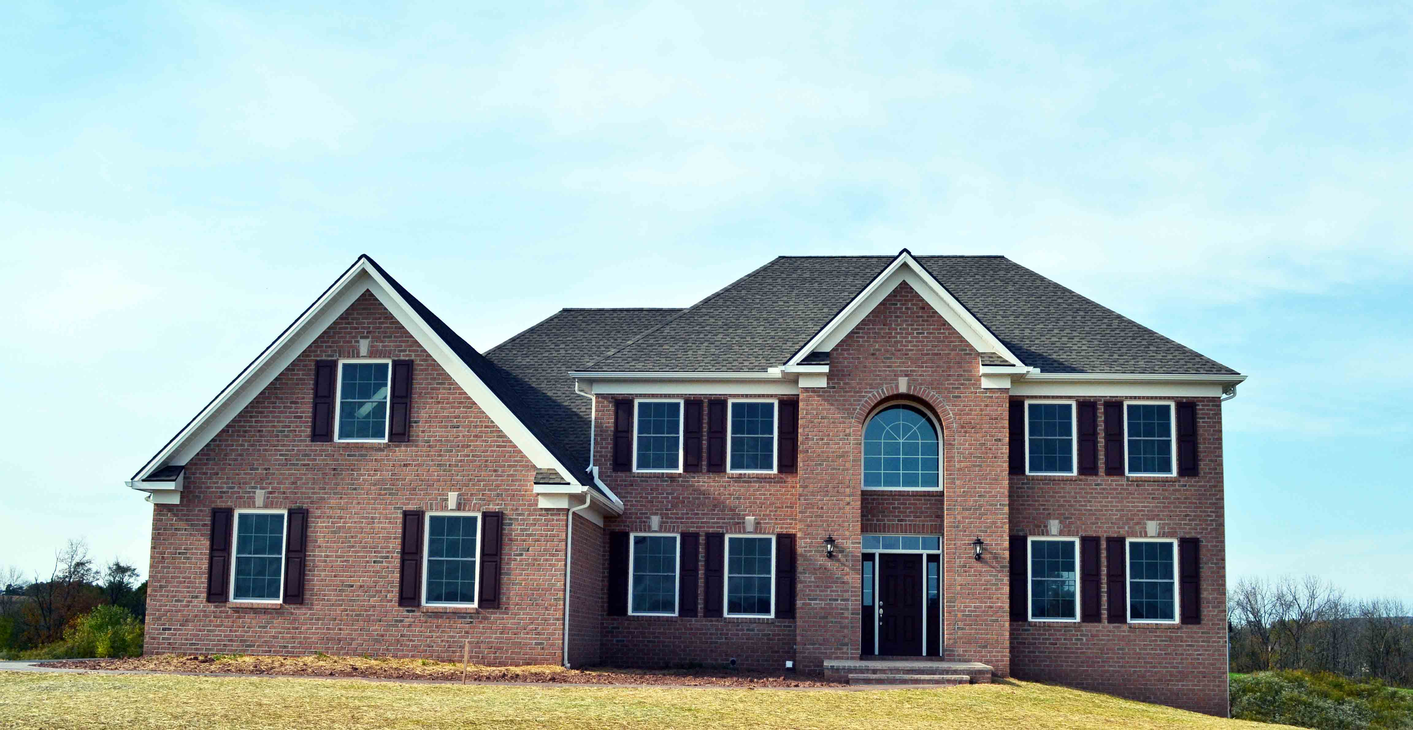 Custom Home Front Elevation : Jlh inc custom home jeffrey l henry homes