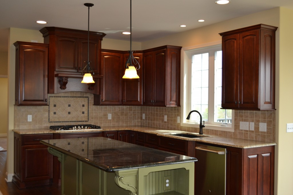 Custom kitchen in home built by Jeffrey L. Henry, Inc. of York, PA.