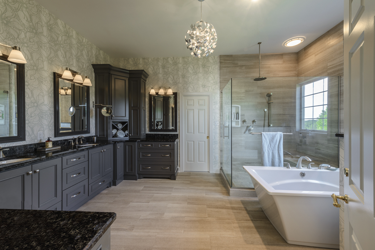 Jlh inc custom home jeffrey l henry inc custom homes for Custom master bathroom designs